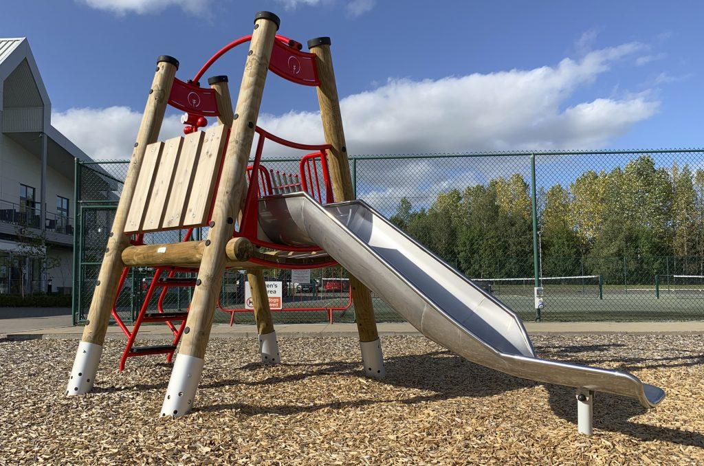 The Shrewsbury Club Toot & Slide Toddler Climber