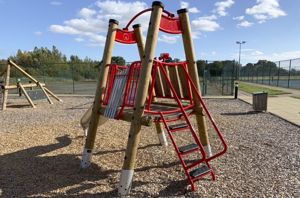 The Shrewsbury Club Toot & Slide Toddler Climber