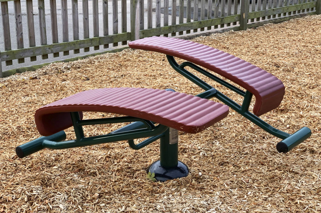 Double Sit Up Bench at Lawley Primary School